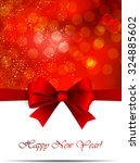 abstract christmas card | Shutterstock .eps vector #324885602