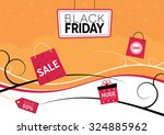 black friday design with... | Shutterstock .eps vector #324885962