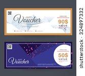 gift voucher colorful | Shutterstock .eps vector #324897332