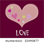 love card   Shutterstock .eps vector #32490877