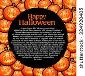 halloween template   Shutterstock .eps vector #324920405