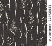 vector seamless pattern. meadow ... | Shutterstock .eps vector #324920858