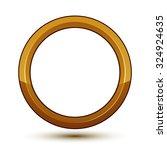 royal golden geometric symbol... | Shutterstock .eps vector #324924635