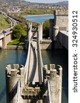 bridge and gate tower for conwy ...