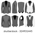 formal business suits jacket... | Shutterstock .eps vector #324931445
