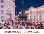 london  uk   august 22  2015 ... | Shutterstock . vector #324958622