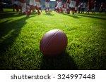 american football on stadium... | Shutterstock . vector #324997448