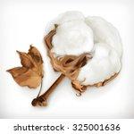 cotton  vector icon | Shutterstock .eps vector #325001636