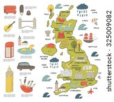 Cute Hand Drawn Doodle Map On...