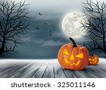 Halloween Spooky Background....