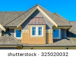 the roof of the house with nice ... | Shutterstock . vector #325020032