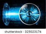 dark blue color light abstract... | Shutterstock .eps vector #325023176