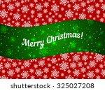 merry christmas theme banner... | Shutterstock .eps vector #325027208