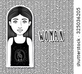 People concept about woman design, vector illustration eps 10