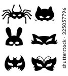 Collection Of Animal Masks Wit...