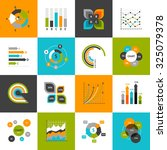 different types of business... | Shutterstock . vector #325079378