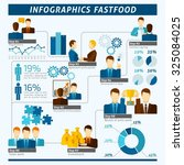 partnership infographics set... | Shutterstock . vector #325084025