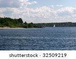 casco bay near portland maine | Shutterstock . vector #32509219