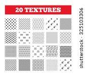 seamless patterns. endless... | Shutterstock .eps vector #325103306