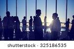 group people handshake meeting... | Shutterstock . vector #325186535