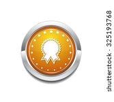 medal yellow vector icon button   Shutterstock .eps vector #325193768