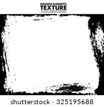 grunge frame   abstract texture.... | Shutterstock .eps vector #325195688