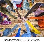 team corporate teamwork... | Shutterstock . vector #325198646