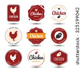 labels and badges set of... | Shutterstock .eps vector #325199042