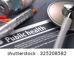 public health. medical concept... | Shutterstock . vector #325208582
