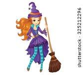 halloween illustration.... | Shutterstock .eps vector #325212296