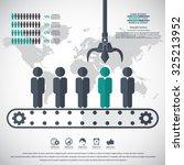 business management  strategy... | Shutterstock .eps vector #325213952