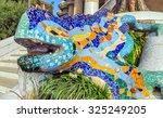 Mosaic Sculpture At The Parc...