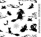 seamless pattern  symbols... | Shutterstock .eps vector #325281632