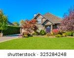 luxury house in vancouver ...   Shutterstock . vector #325284248