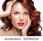 Beautiful Face Of A Fashion...