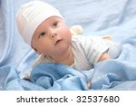 portrait of adorable creeping... | Shutterstock . vector #32537680