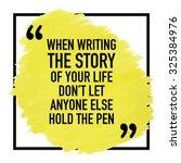 motivational inspirational...   Shutterstock .eps vector #325384976