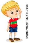 Little Boy With Sad Face...