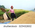 sapa  vietnam   sep 4  hmong... | Shutterstock . vector #325432832