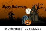 ultra high definition halloween ...   Shutterstock . vector #325433288