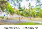 blur image of people activities ... | Shutterstock . vector #325433972