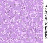 seamless vector pattern of... | Shutterstock .eps vector #325434752