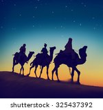 Three Wise Men Riding Camel...