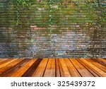 Image Of Wooden Floor And  Old...