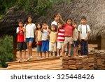 puni bocana  ecuador   23...   Shutterstock . vector #325448426
