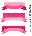 pink breast cancer awareness... | Shutterstock . vector #325448846