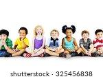 children kids happiness... | Shutterstock . vector #325456838