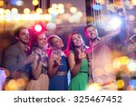 party  holidays  technology ... | Shutterstock . vector #325467452