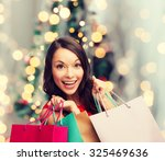sale  gifts  holidays and... | Shutterstock . vector #325469636