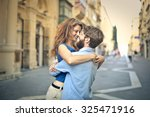 in love couple | Shutterstock . vector #325471916
